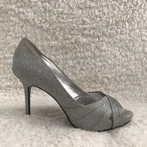 Silver new heels